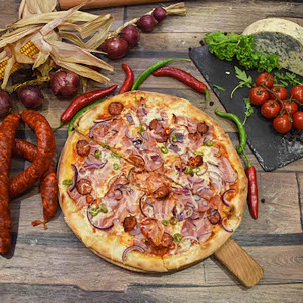 pizza ungarese