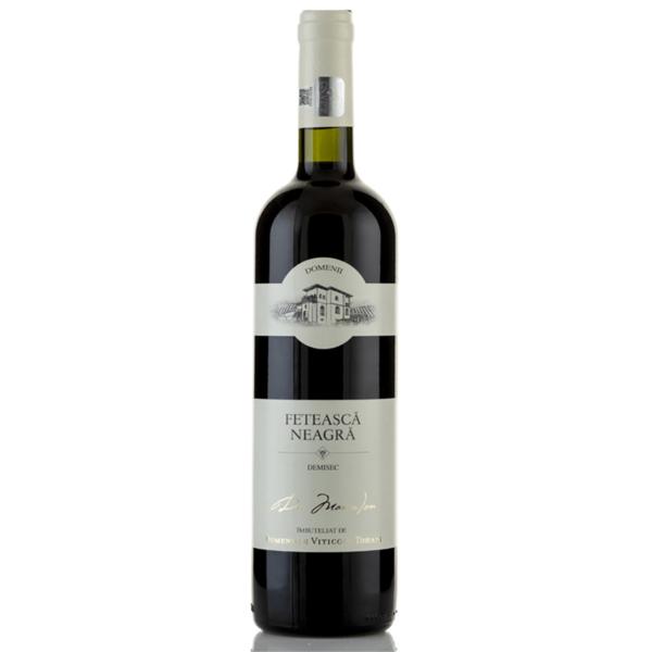 vin rosu domeniile tohani